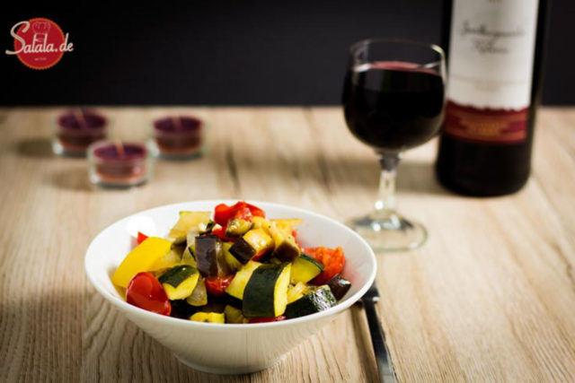 Ratatouille | low carb | vegetarisch