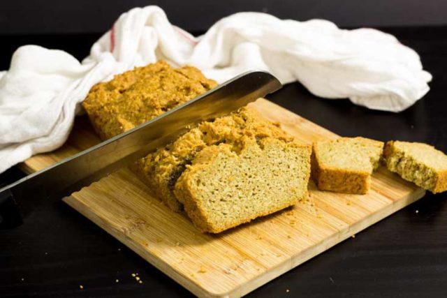 schnelles ketogenes Low Carb Brot