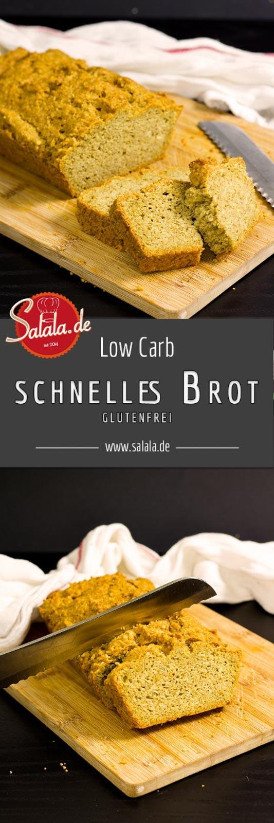 Schnelles ketogenes Low Carb Brot - by salala.de - - glutenfrei backen ohne Mehl ketogenes Brot Low Carb Frühstück