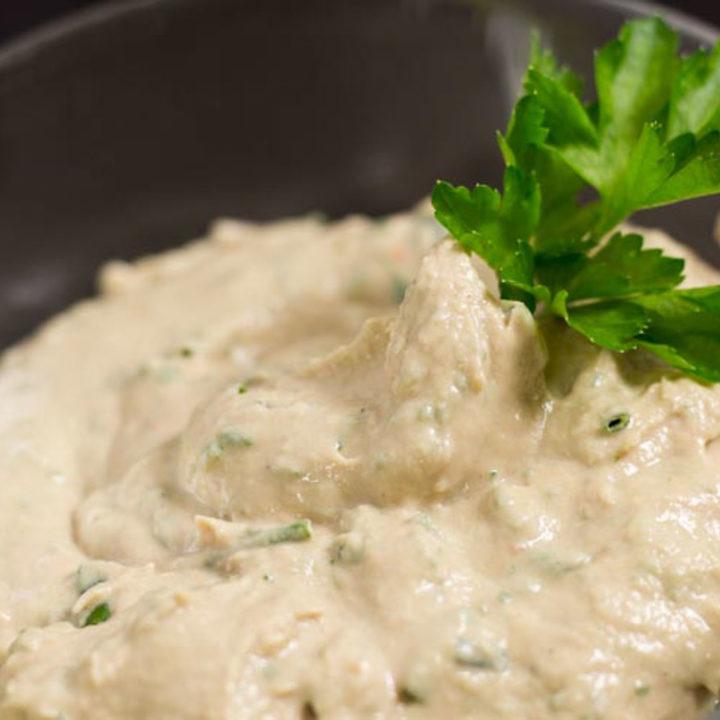 Thunfischcreme mit Frischkäse Rezept Low Carb Brotaufstrich salala.de