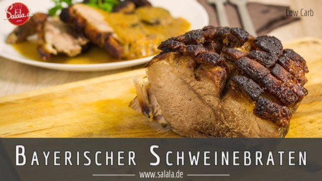 Bayrischer Schweinebraten | low carb auf bayrisch