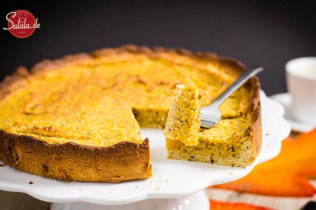 pumpkin pie kürbiskuchen ohne mehl zuckerfrei glutenfrei low carb backen salala.de rezept