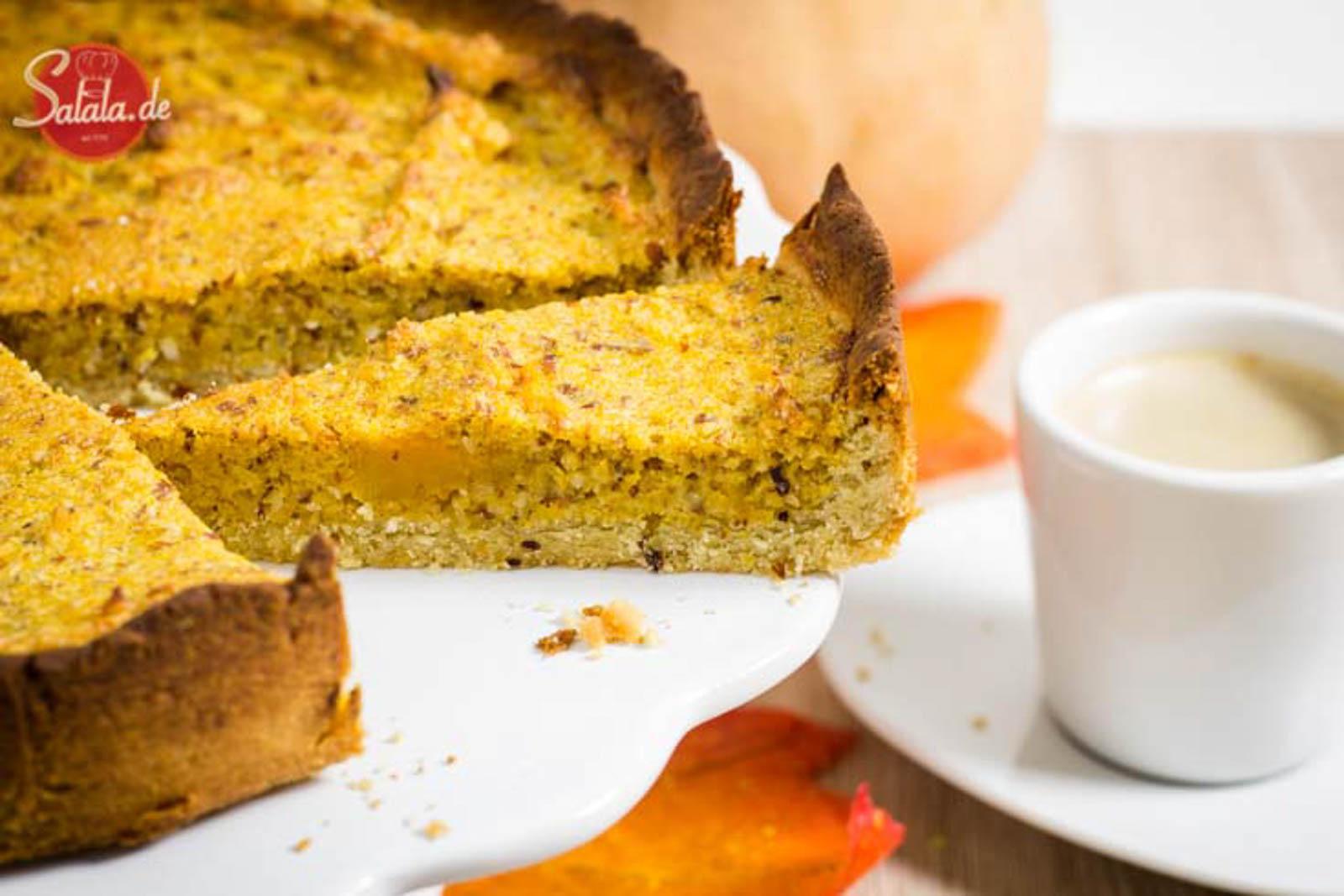 pumpkin pie kürbiskuchen ohne mehl zuckerfrei glutenfrei low carb backen salala.de