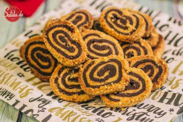 Erdnussplätzchen Low Carb Erdnussrolle - by salala.de - low carb glutenfrei ohne zucker ohne mehl Weihnachten