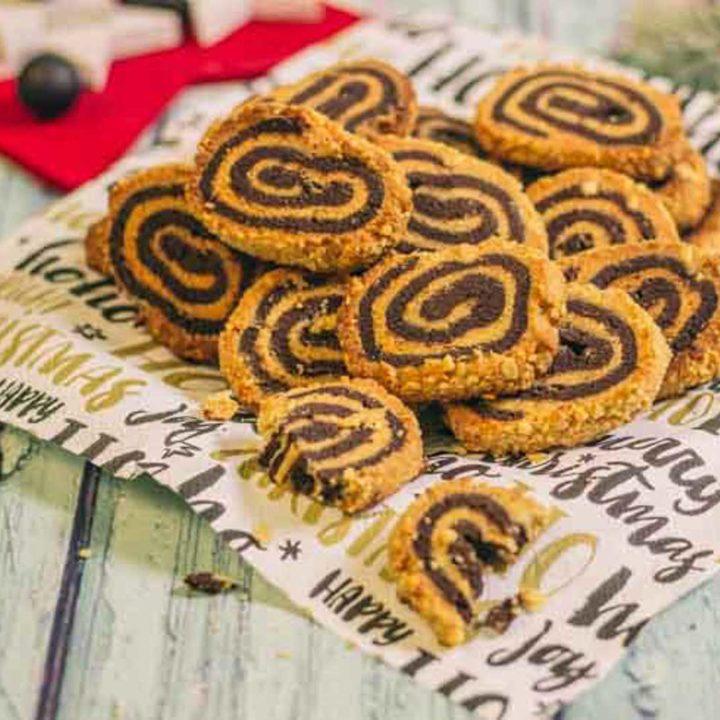 Erdnussplätzchen Low Carb Erdnussrolle by salala.de low carb glutenfrei ohne zucker ohne mehl Weihnachten Rezept
