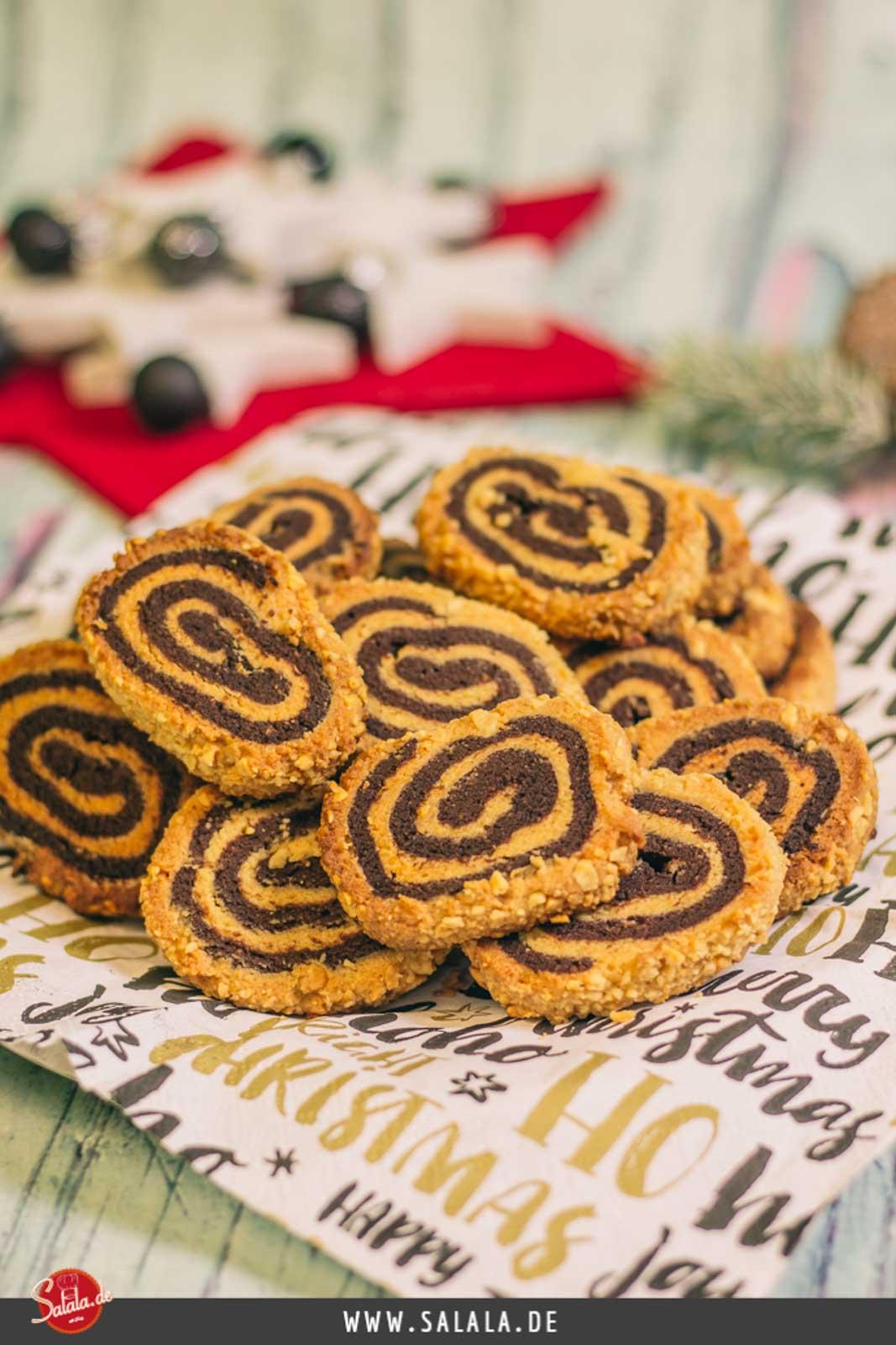 Erdnussplätzchen Low Carb Erdnussrolle - by salala.de - low carb glutenfrei ohne zucker ohne mehl Weihnachten Rezept zuckerfrei mehlfrei