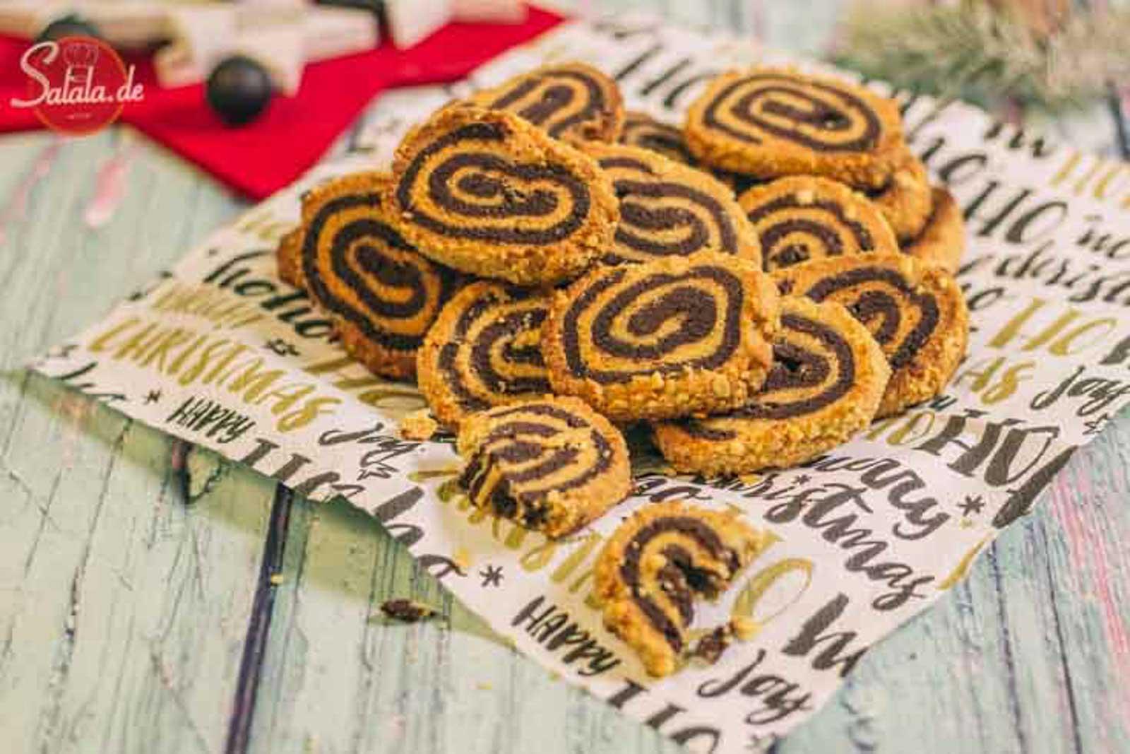 Erdnussplätzchen Low Carb Erdnussrolle - by salala.de - low carb glutenfrei ohne zucker ohne mehl Weihnachten Rezept