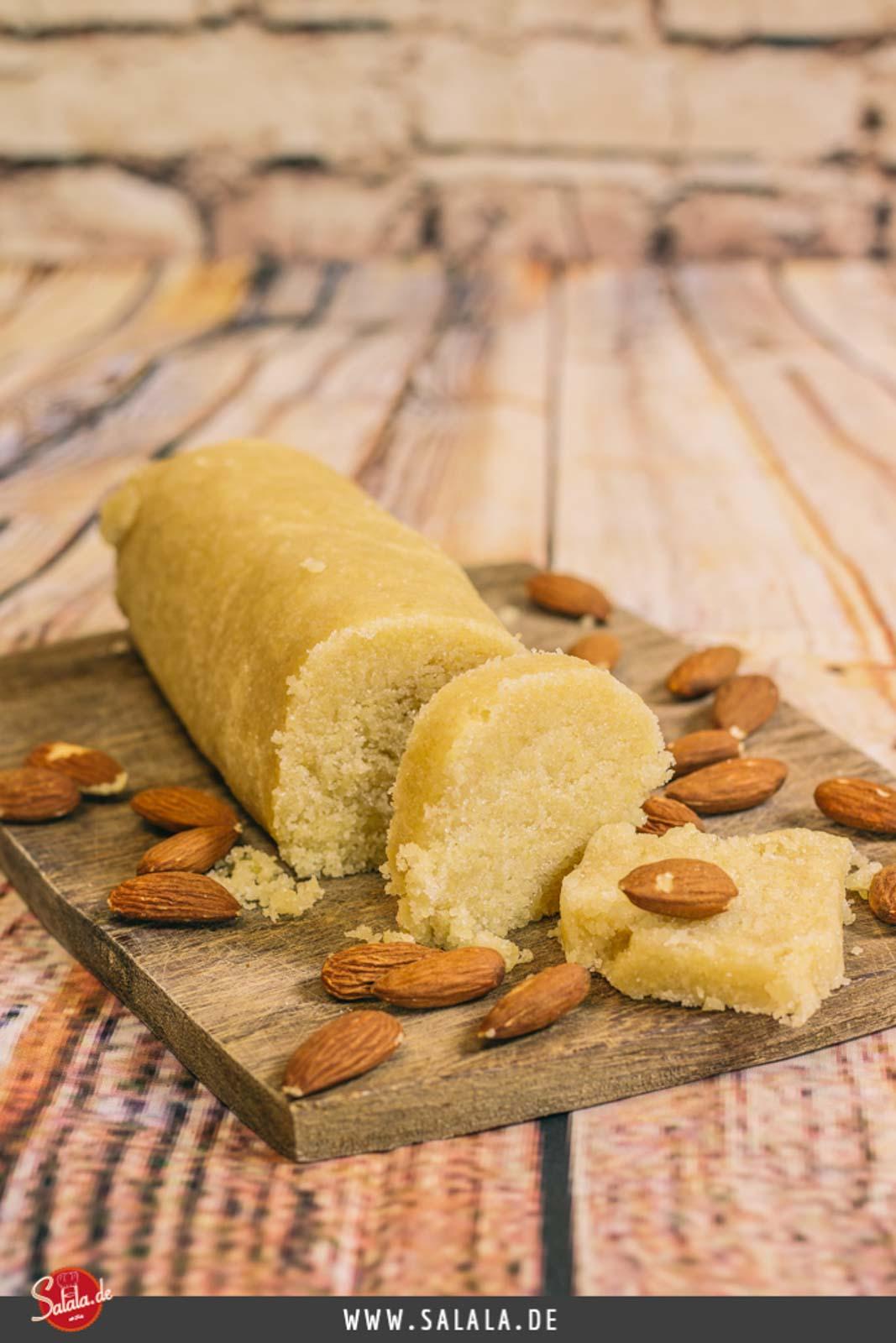 Low Carb Marzipan einfach selber machen - by salala.de - Marzipan ohne Zucker Low Carb glutenfrei zuckerfrei