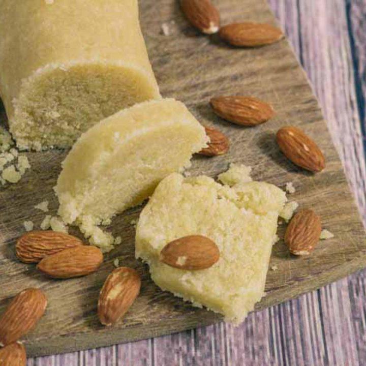 Low Carb Marzipan einfach selber machen by salala.de Maripan ohne Zucker Low Carb glutenfrei zuckerfrei Rezept