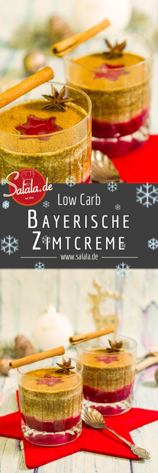 bayerische zimtcreme low carb weihnachtsdessert salala. Black Bedroom Furniture Sets. Home Design Ideas