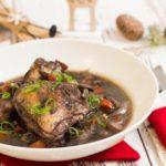 Coq au vin low carb - by salala.de - Huhn in Weinsauce ohne Mehl, glutenfrei, französische Küche, Weihnachtsmenü, Rezept