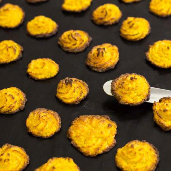 Low Carb Herzoginkartoffeln by salala.de Blumenkohl Kartoffeln Ofengericht glutenfrei ohne Mehl Rezept