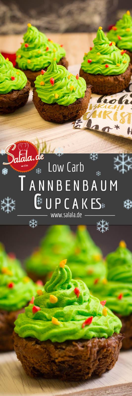 Muffin Tannenbaum.Tannenbaum Cupcakes Low Carb Salala De Low Carb Leicht Gemacht