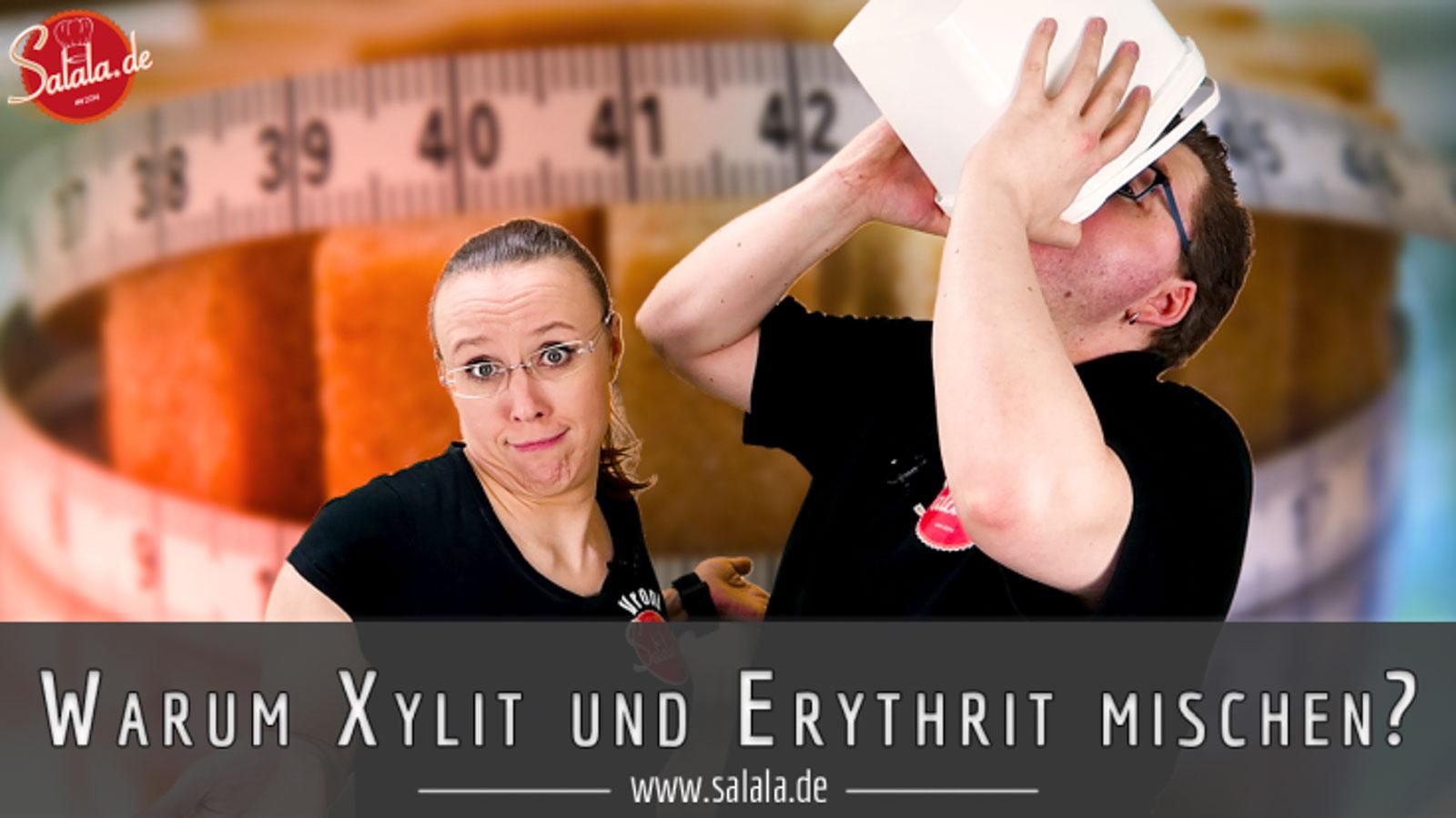 Eryxyl - Unsere geheime Xylit Erythrit Mischung Low Carb Zuckerersatz der wie Zucker schmeckt