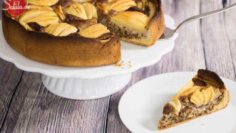 Apfelkuchen Mit Walnussen Low Carb Rezept Salala De Low Carb