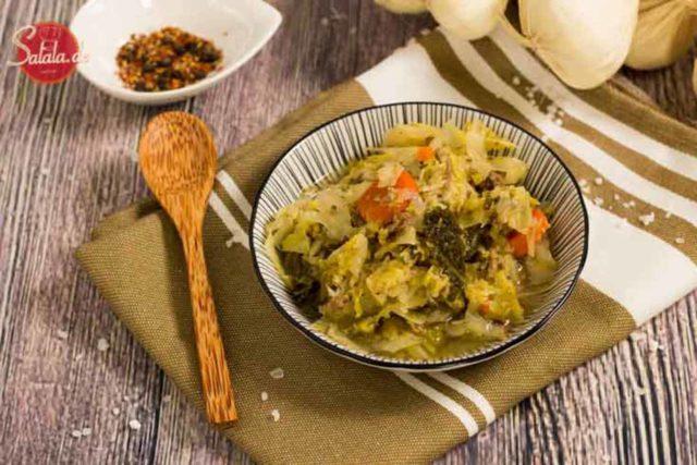 Low Carb Kohltopf zum vorkochen - by salala.de - Weißkohl Wirsing Speck Hackfleisch vorkochen vorbereiten glutenfrei ohne Kartoffeln Eintopf zuckerfrei Kochrezept