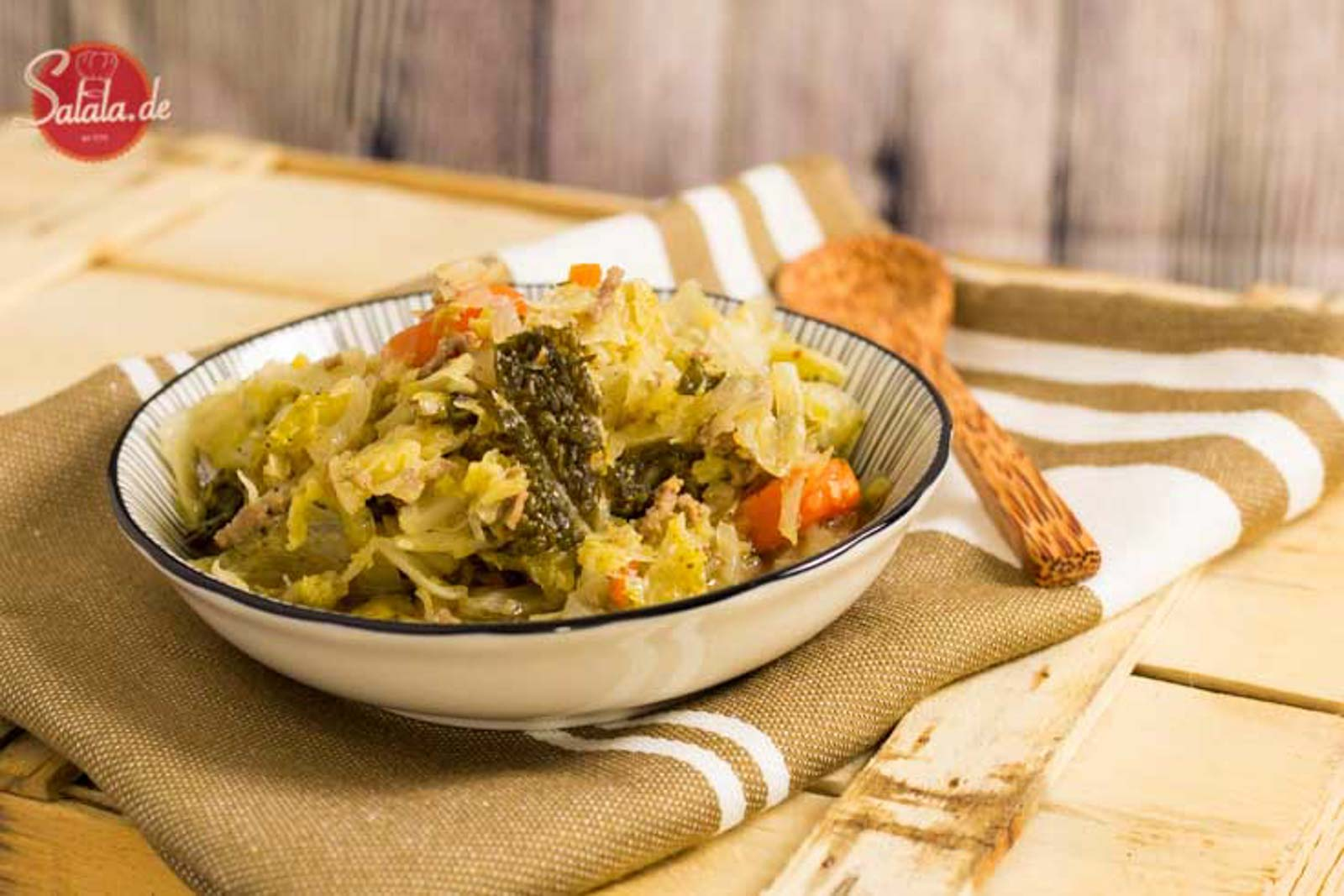 Low Carb Kohltopf zum vorkochen - by salala.de - Weißkohl Wirsing Speck Hackfleisch vorkochen vorbereiten glutenfrei ohne Kartoffeln Eintopf zuckerfrei Rezept