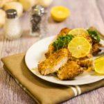 Low Carb Schnitzel mit Panade - by salala.de - panierte Schnitzel Low Carb Panade ohne Mehl ohne Semmelbrösel Schweinekrusten glutenfrei
