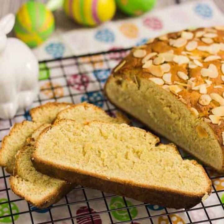 Low Carb Osterbrot by salala.de Osterbrot ohne Mehl und ohne Zucker natürlich auch glutenfrei