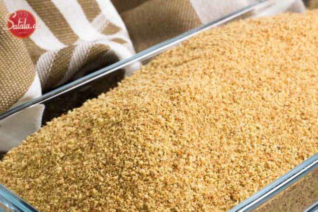 Low Carb Paniermehl selber machen Low Carb und glutenfrei salala.de geniale Low Carb Semmelbrösel