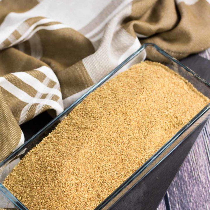 Paniermehl selber machen Low Carb und glutenfrei salala.de geniale Low Carb Semmelbrösel 1