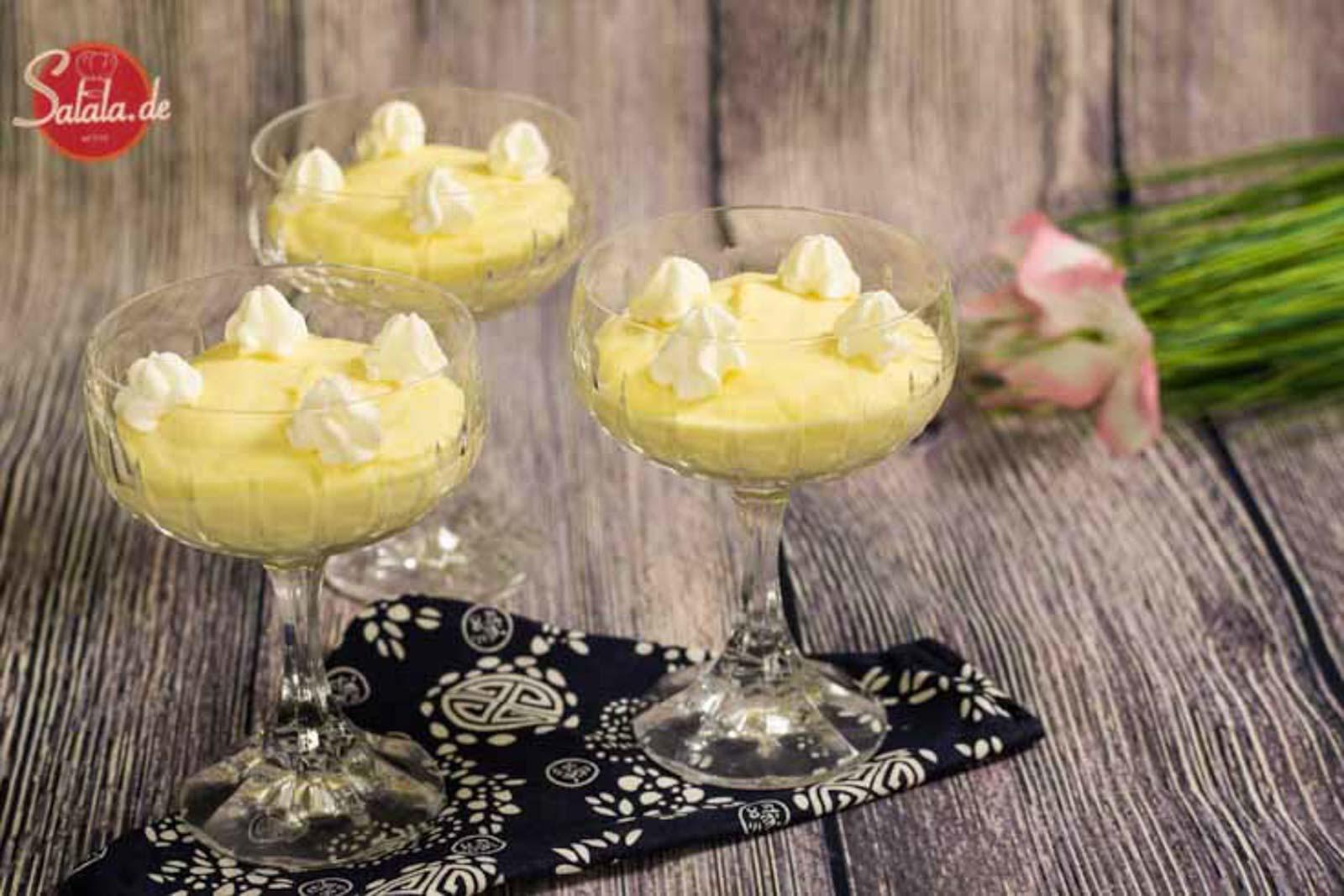 Zitronencreme – Low Carb Nachspeise