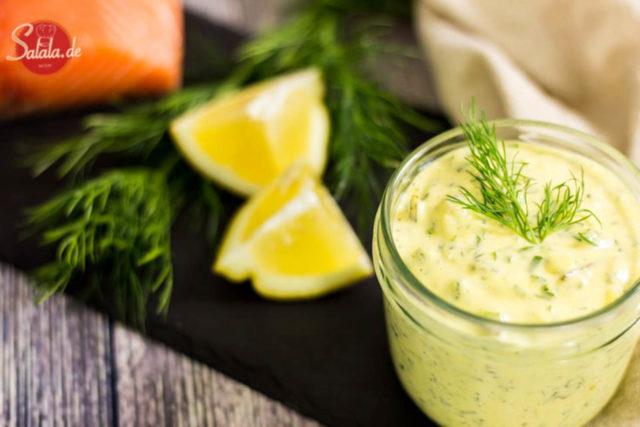 Remoulade selber machen Rezept ohne Zucker Low Carb Grillsaucen von salala.de
