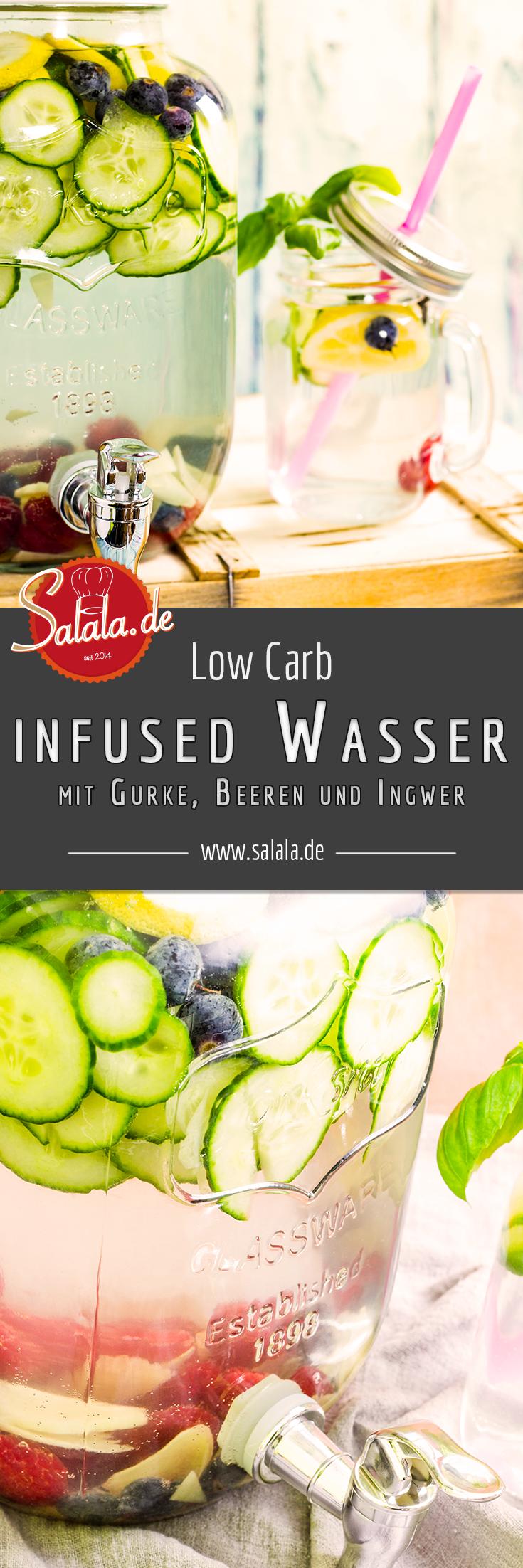 Wasser mit Geschmack – Low Carb | salala.de – Low Carb mit Vroni & Nico