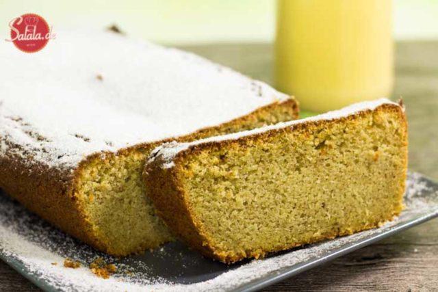 Eierlikörkuchen selber machen - by salala.de - ohne Mehl und ohne Zucker glutenfrei Low Carb Rezept