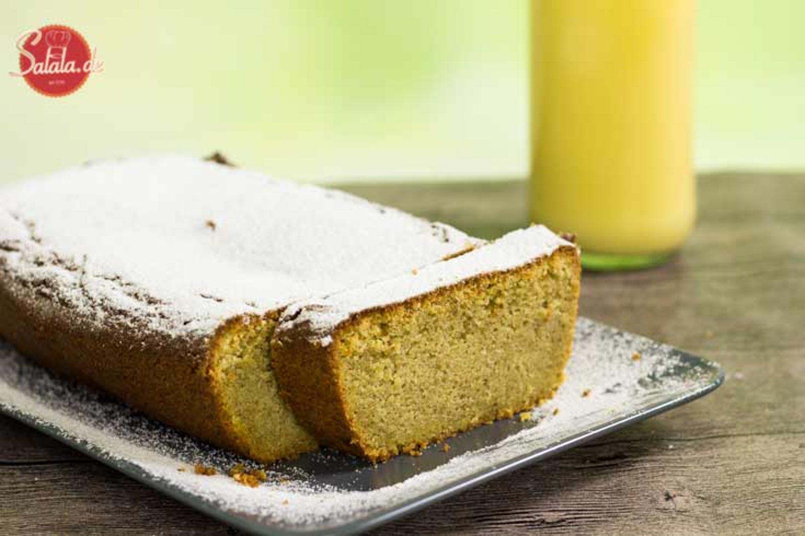 Eierlikörkuchen zuckerfrei selber machen - by salala.de - ohne Mehl und ohne Zucker Low Carb Rezept