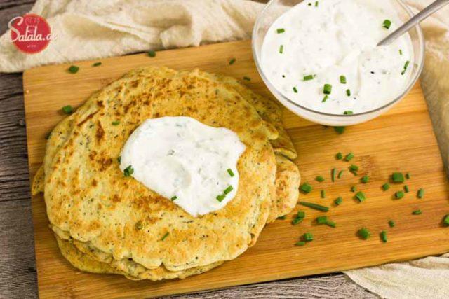 Low Carb Pfannkuchen - by salala.de - mit Quark geeignet für Keto ohne Mehl glutenfrei