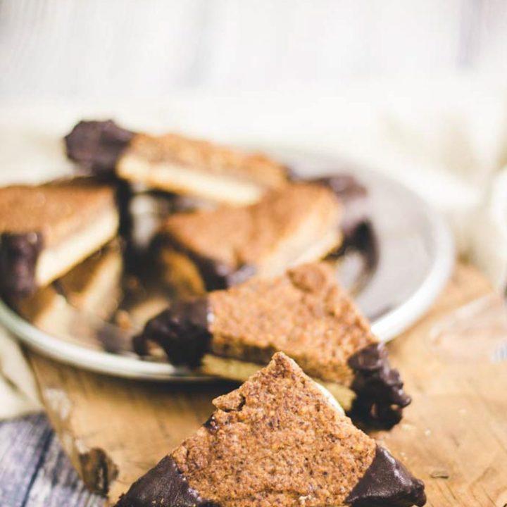 Nussecken Low Carb Rezept ohne Zucker und Mehl 20180512 Pinterest salala.de Hochkant 3