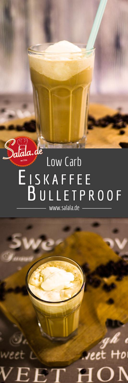 Bulletproof Eiskaffee Low Carb ohne Zucker Kugelsicherer Eiskaffee Rezept