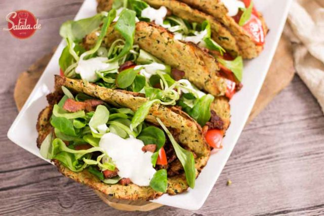 Zucchini Taco Shells – Low Carb Rezept
