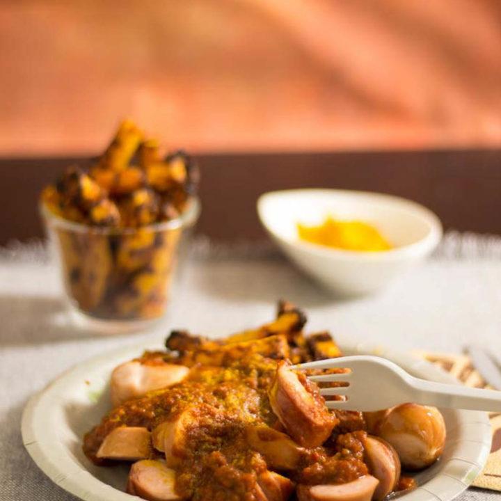 scharfe Currywurst selber machen by salala.de Low Carb Currysauce Rezept ohne Zucker 1