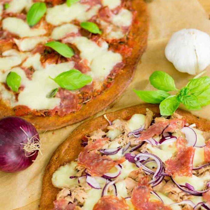 Keto Fathead Pizzateig by salala.de Low Carb Pizzateig mit Mozzarella und Mandelmehl DIY