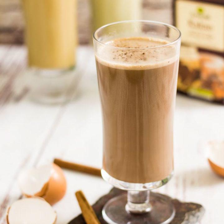 Keto Kakaodrink Drink zum Frühstück ohne Milch