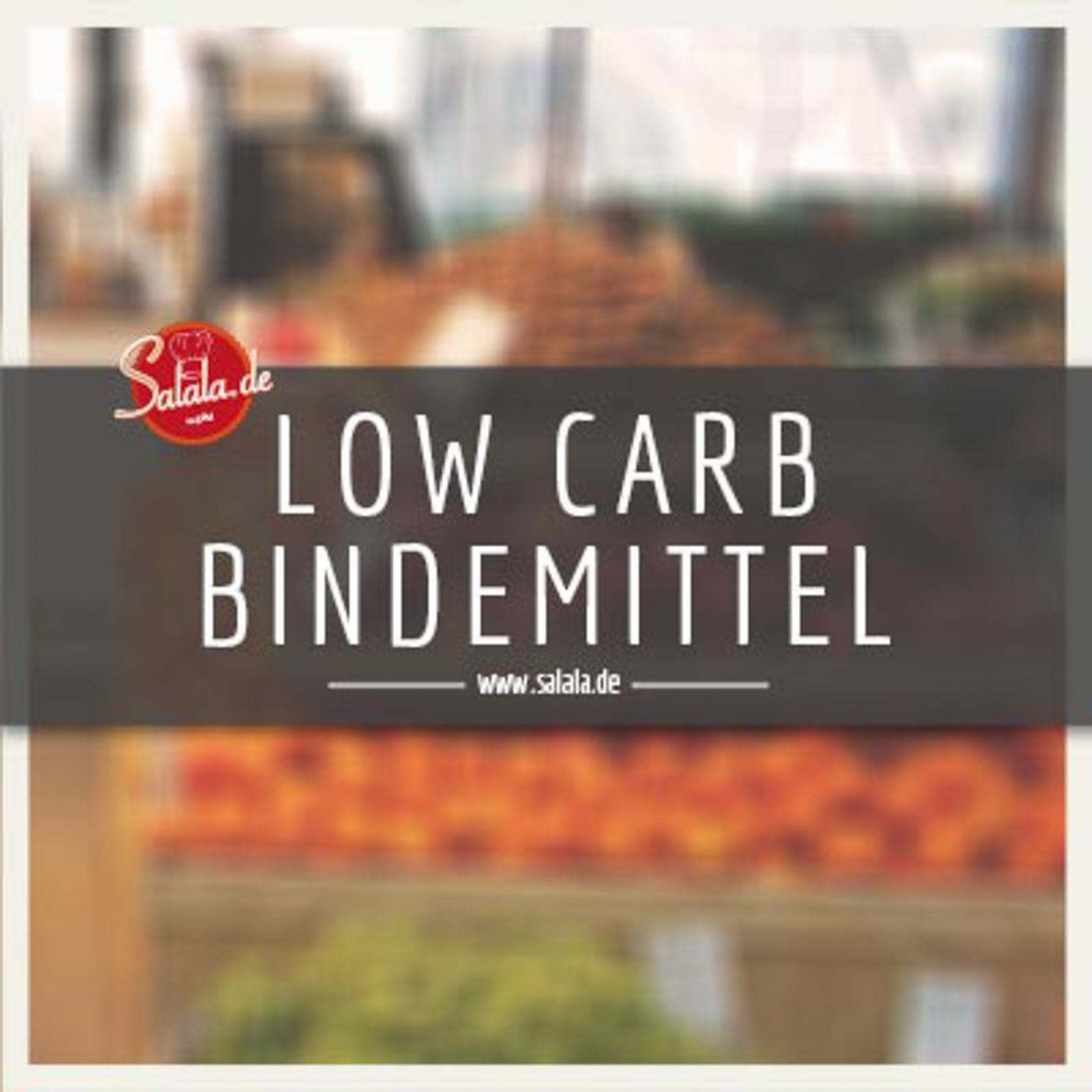 Low Carb Bindemittel