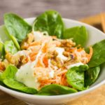 Low Carb Waldorfsalat - by salala.de - Rezept Low Carb selber machen ohne Mayonnaise mit Rettich #salat #lowcarb #sugarfree #zuckerfrei #glutenfrei