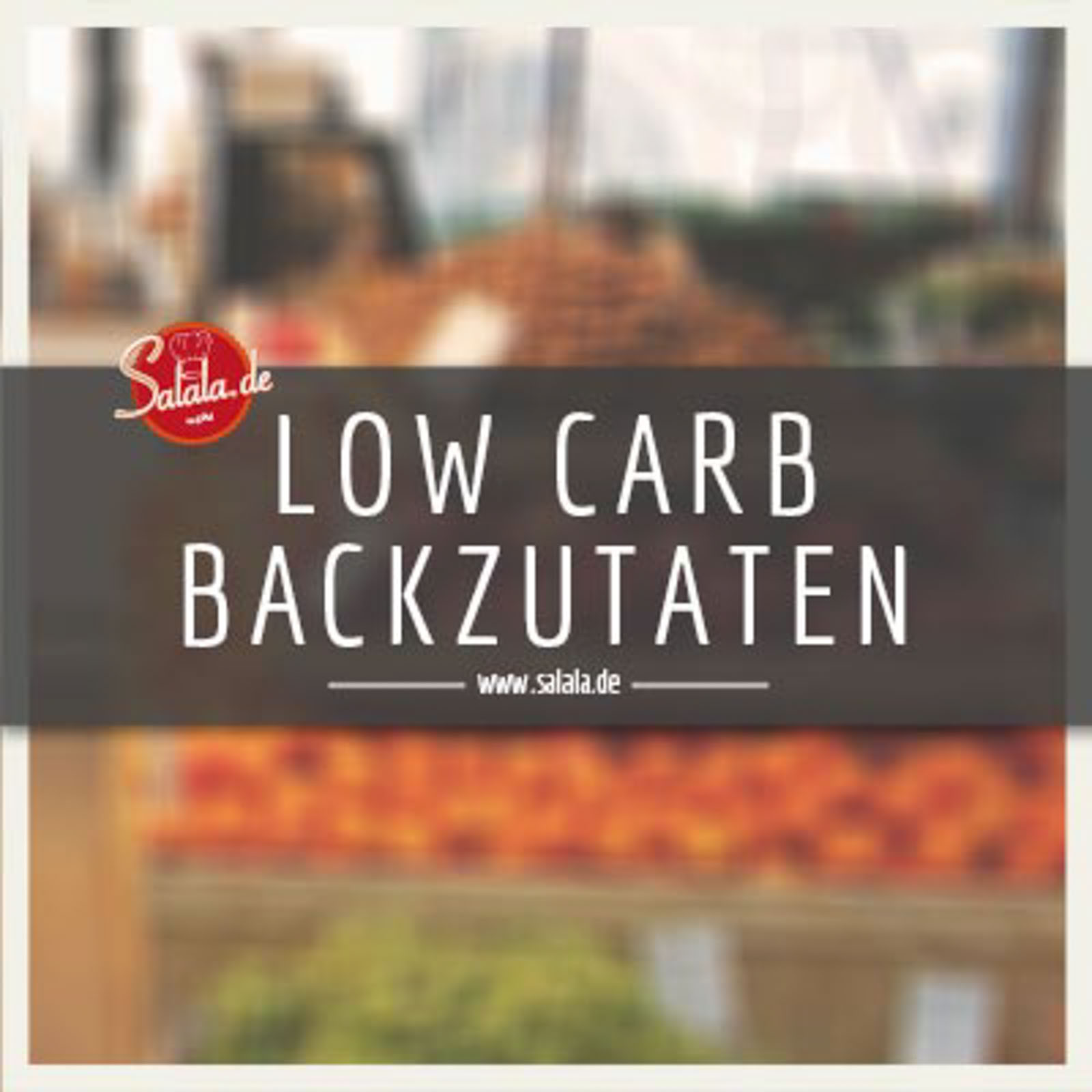 Low Carb Zuckerersatz