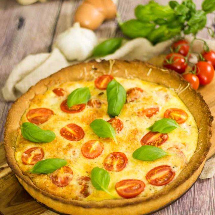Low Carb Lachs Quiche by salala.de Low Carb Rezept einfach selbermachen mit Tomaten