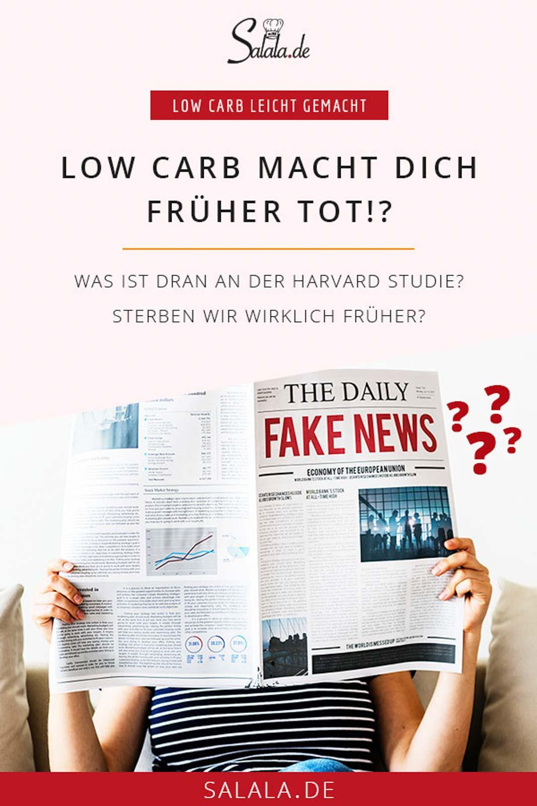 Low Carb macht dich früher tot - Was ist dran an der ominösen Harard Studie - salala klärt auf #studie #harvardstudie #lowcarb #lowcarbstudie