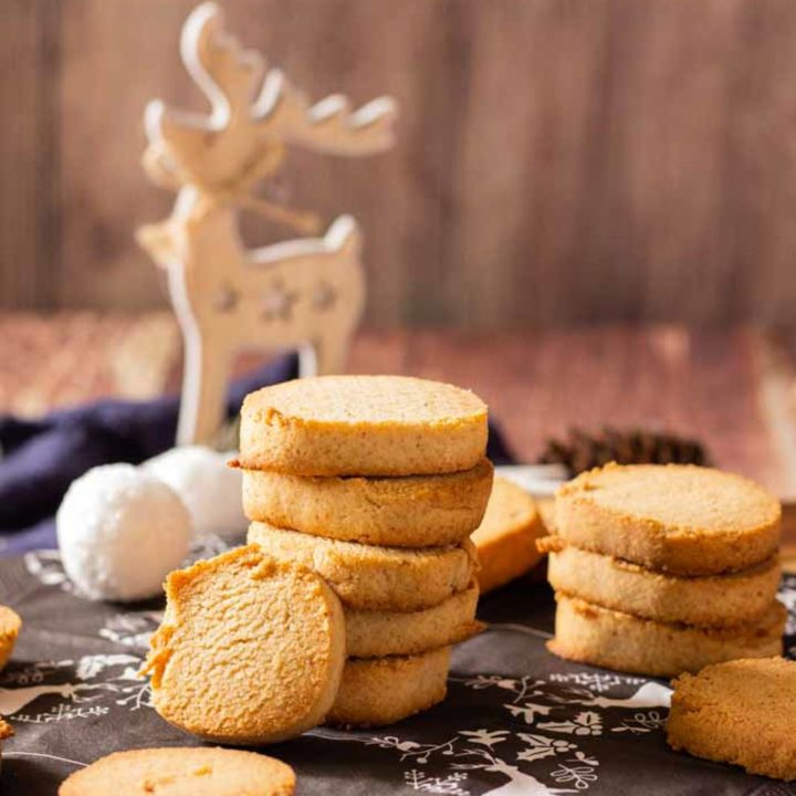 Heidesand Rezept ohne Mehl by salala.de Low Carb Weihnachten zuckerfrei