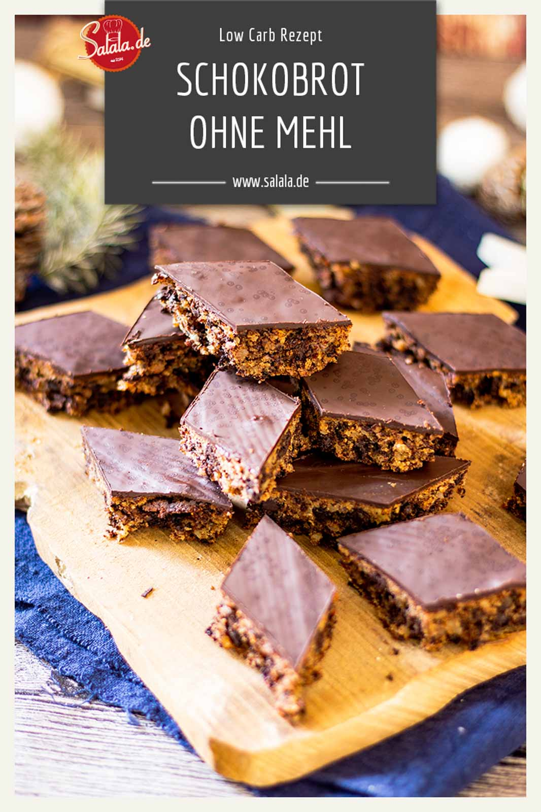 Schokoladenbrot Weihnachten.Schokoladenbrot Ohne Mehl By Happy Girl Salala De Low