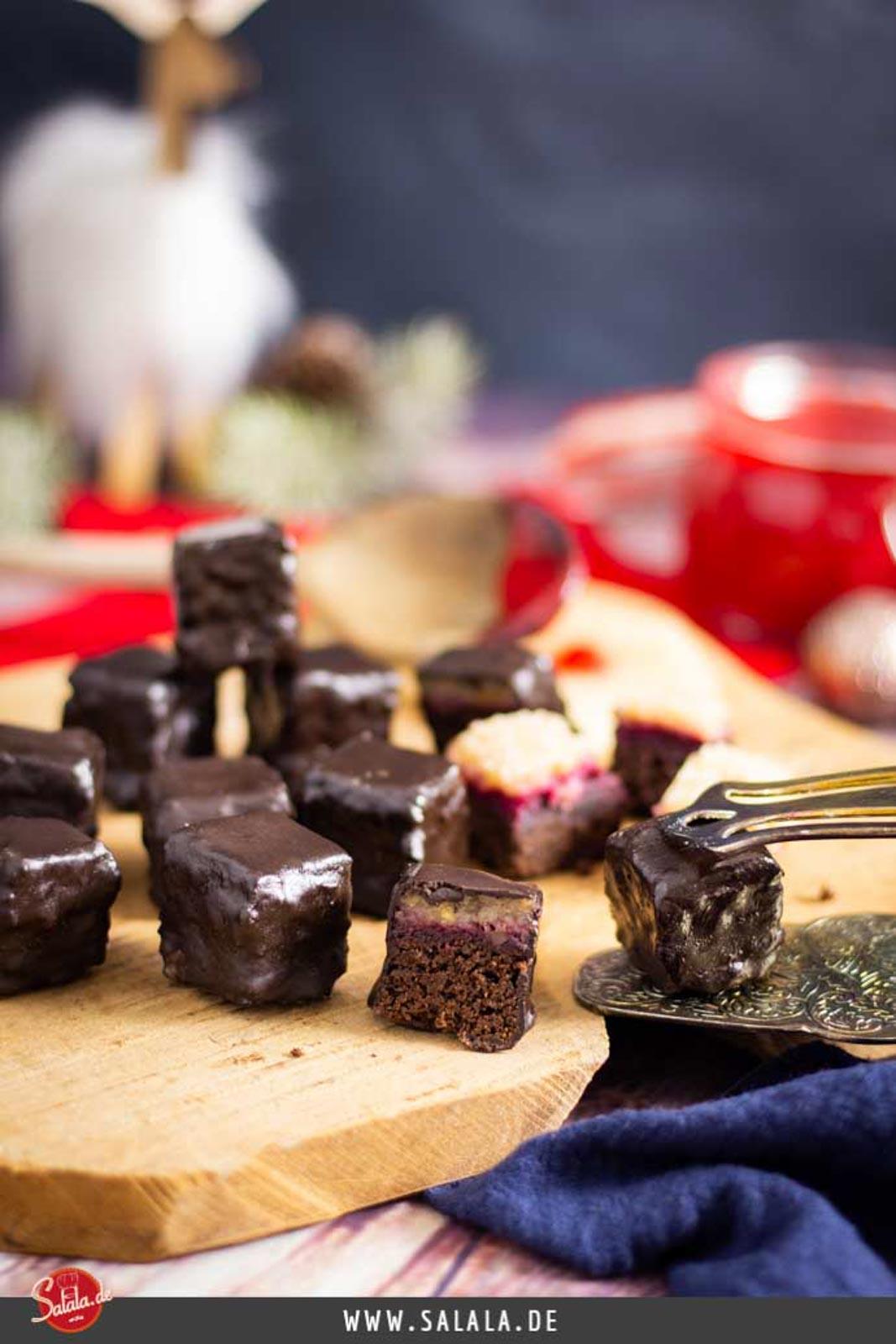 Dominosteine selber machen - by salala.de - ohne Zucker und ohne Mehl I Low Carb Rezept glutenfrei