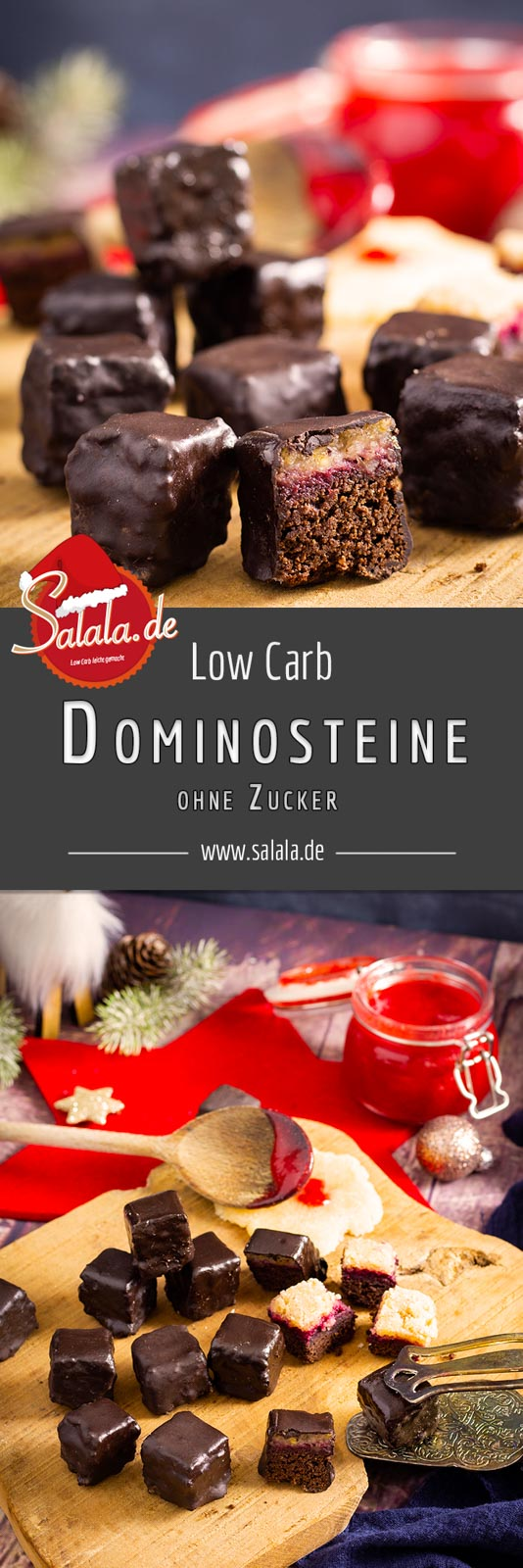 #Dominosteine #LowCarb #DominosteineSelberMachen #DominosteineRezept #LowCarbRezepte #LowCarbBacken #DomionosteineOhneMehl #DominosteineOhneZucker