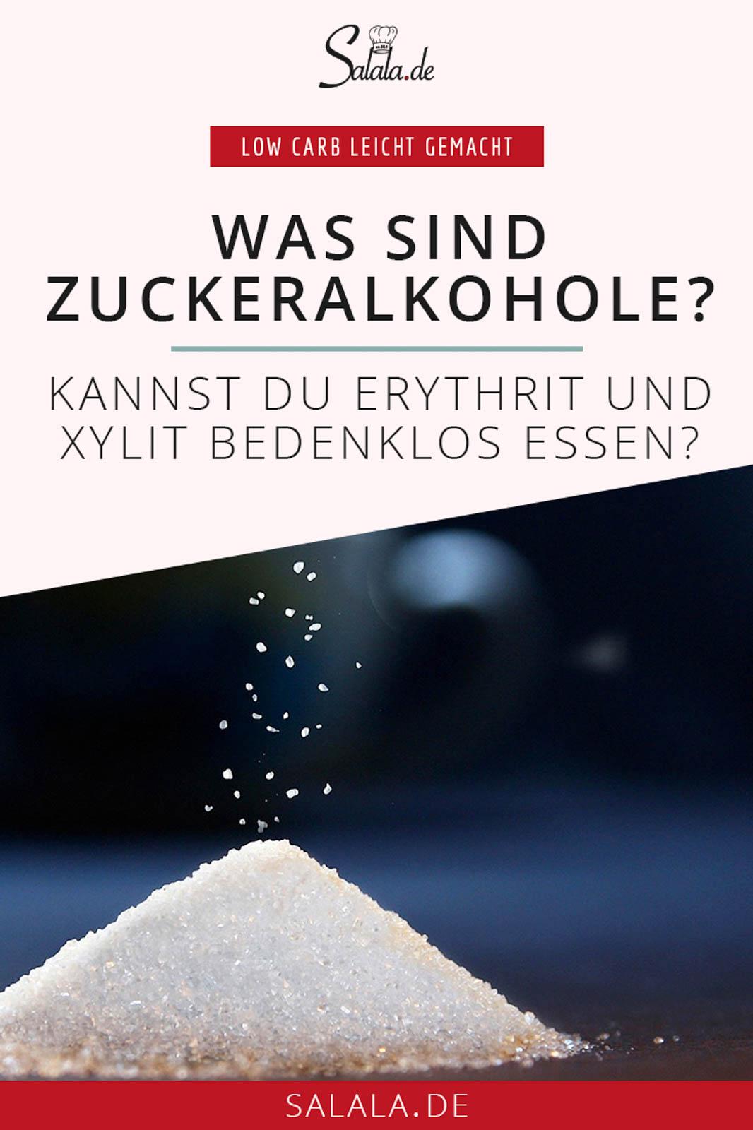 #zuckeralkohole #zuckerersatzstoffe #lowcarb #ohnezucker #xylit #erythrit