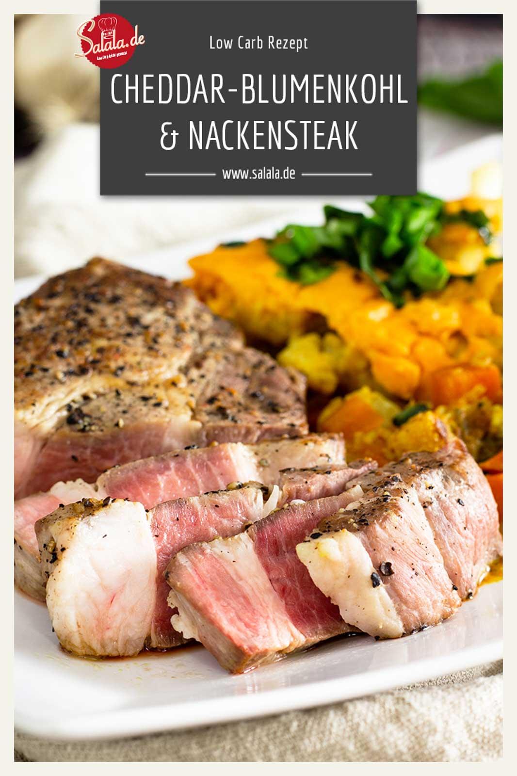 #Cook4Me #Blumenkohl #Nackensteak #LowCarb #Rezepte #LowCarbRezept