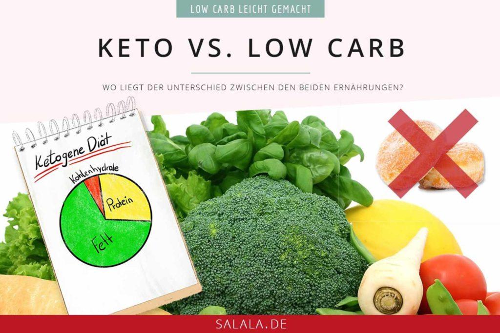 Wo liegt der Unterschied zwischen der ketogenen Ernährung und einer normalen Low Carb Ernährung