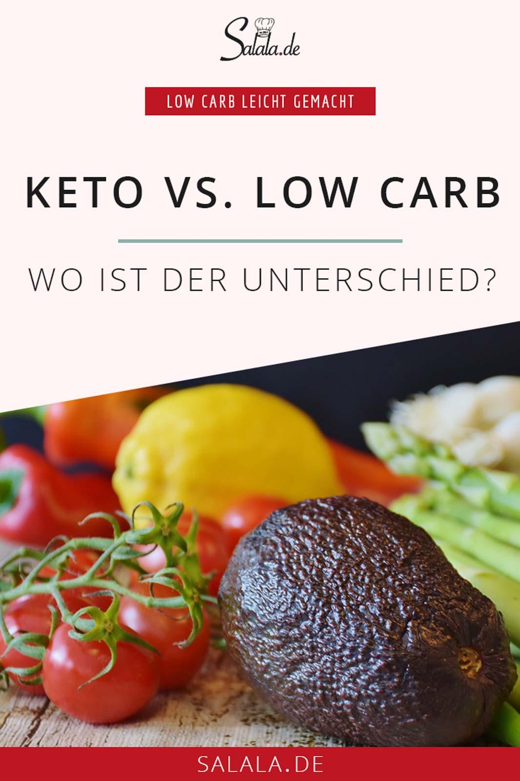 """Ketogene Ernährung gegen Low Carb. Wo liegen die Gemeinsamkeiten und die Unterschiede? Was macht Keto so """"anders""""?  #keto #lowcarb"""